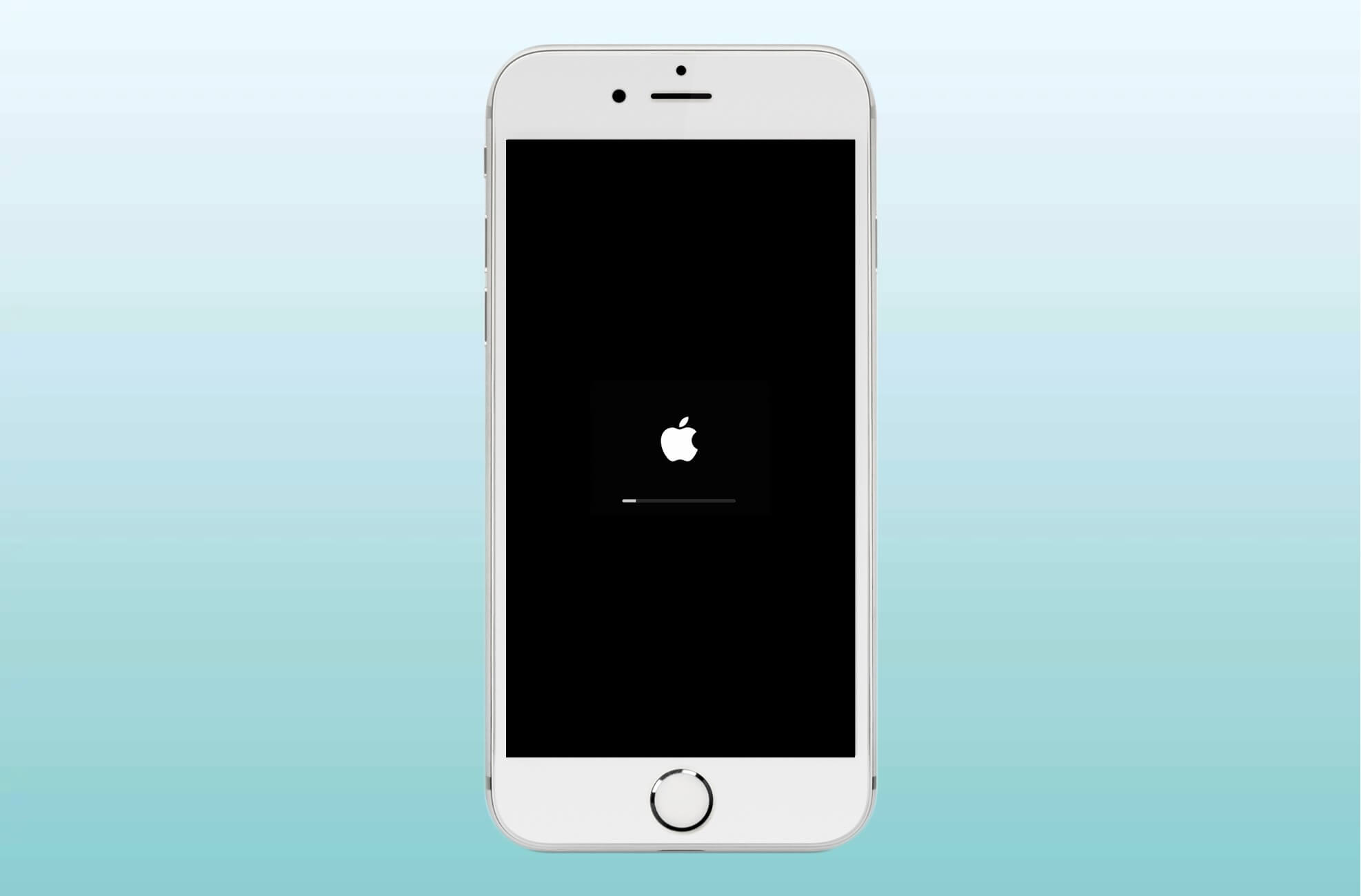 Restart iPhone with Home Button