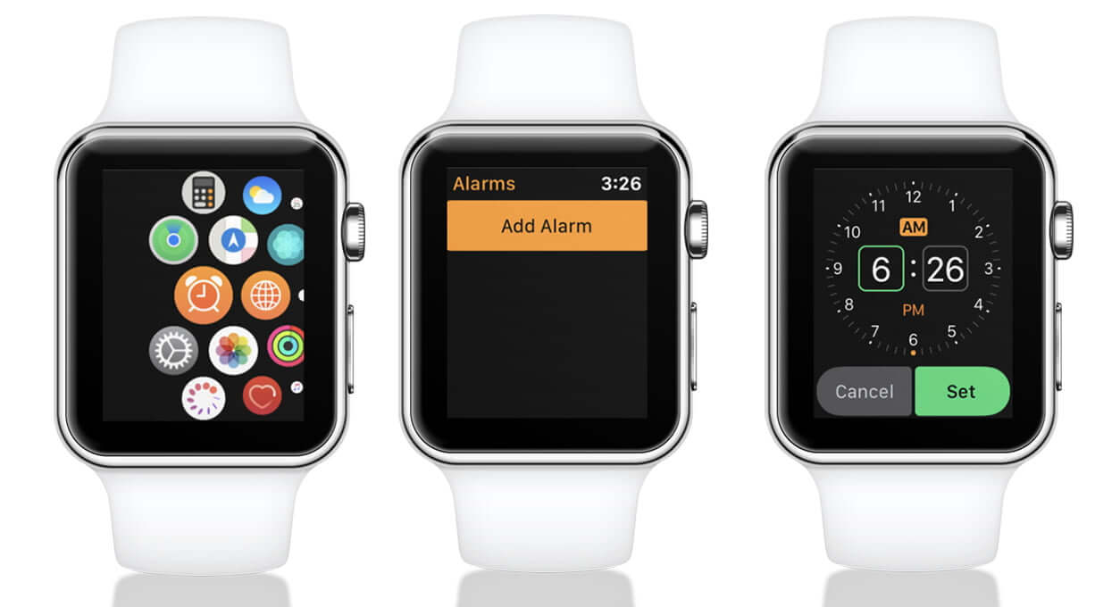 Set an alarm on your Apple Watch