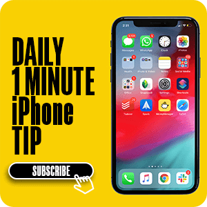 Subscibe to iGeeksBlog Daily iPhone Tip Newsletters