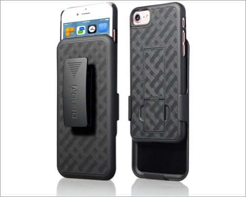 aduro belt clip holster case for iphone se 2020