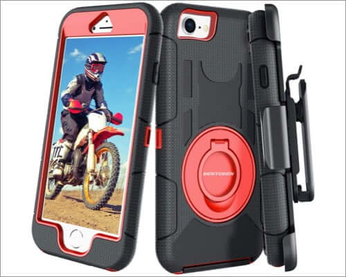 bentoben iphone se 2020 protective belt clip case