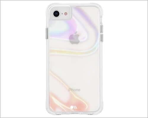 case mate transparent case for iphone se 2020
