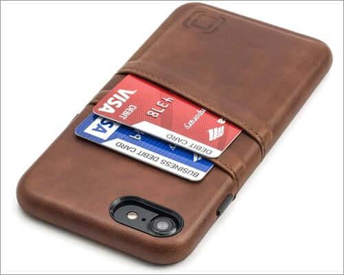 dockem slim wallet case for iphone se 2020
