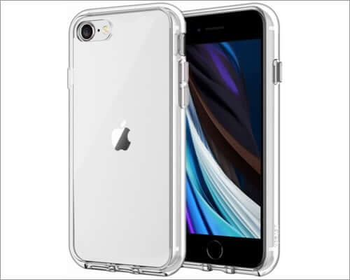 jetech iphone se 2020 bumper case