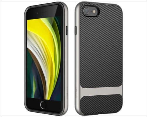 jetech iphone se 2020 carbon fiber slim case