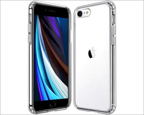 mkeke clear slim case for iphone se 2020