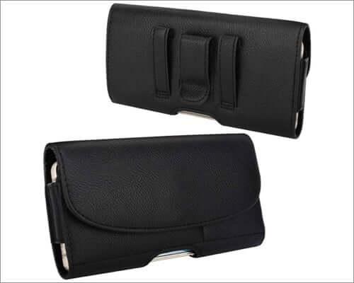 moko belt clip holster case for iphone se 2020