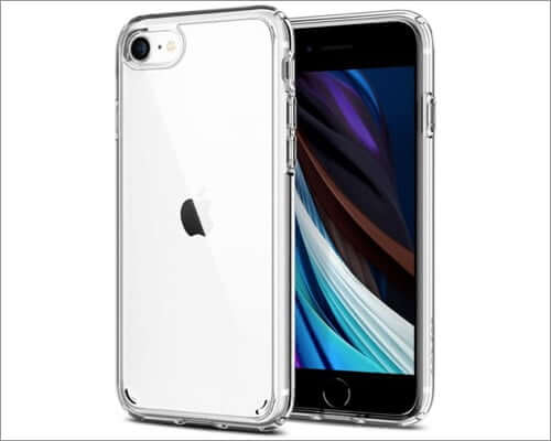 spigen ultra hybrid iphone se 2020 clear case