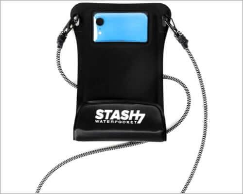 stash waterpocket iphone se 2020 waterproof case