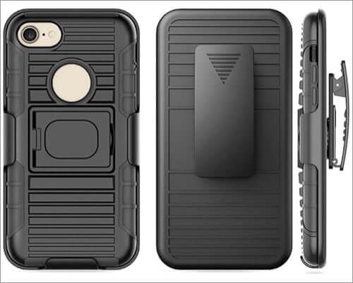 stronden belt clip case for iphone se 2020