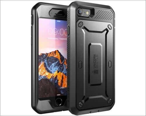 supcase rugged belt clip case for iphone se 2020