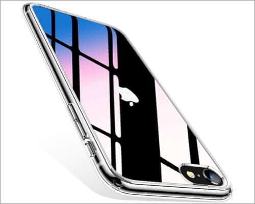 torras diamonds iphone se 2020 transparent case