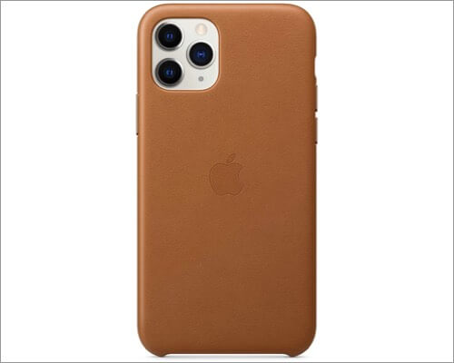 apple leather case for iphone 11 pro