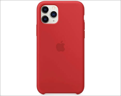 apple silicone slim case for iphone 11 pro