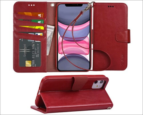 arae leather case for iphone 11