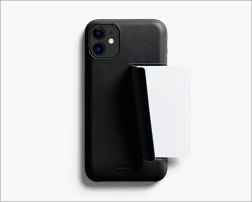 bellroy 3-card wallet case for iphone 11