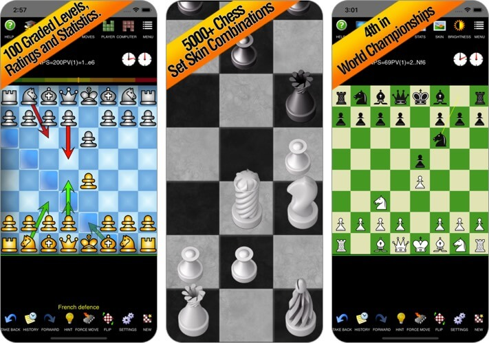 chess pro with coach iphone and ipad game screenshot
