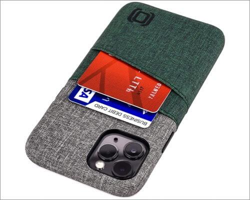 dockem slim wallet case for iphone 11 pro