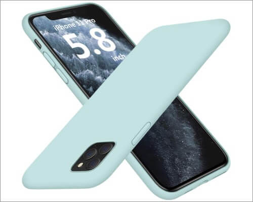 dtto silicone slim cover for iphone 11 pro
