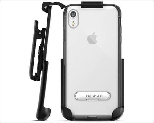 encased iphone xr belt clip case