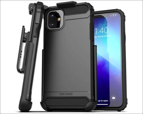 encased scorpio armor belt clip case for iphone 11