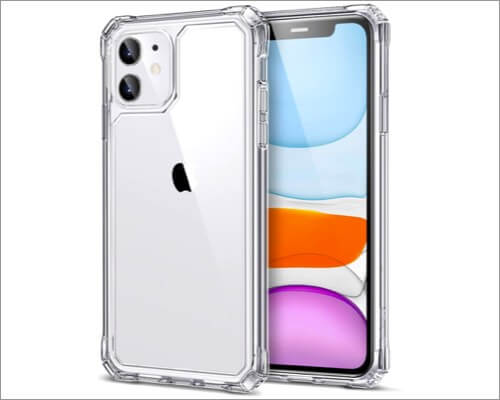 esr air armor military-grade protective case for iphone 11