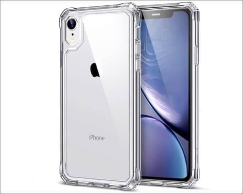 esr slim armor clear case for iphone xr