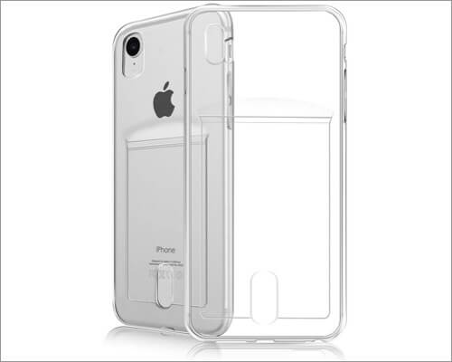 fogeek iphone xr case with card holder