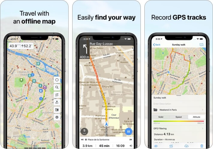 guru maps iphone and ipad app screenshot
