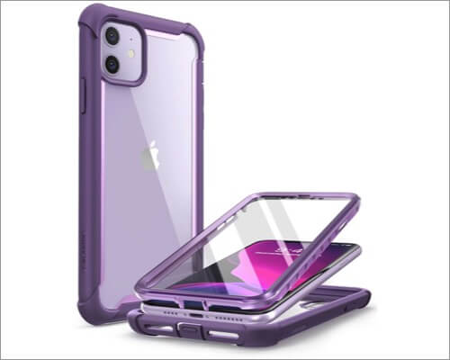i-blason ares iphone 11 rugged clear case