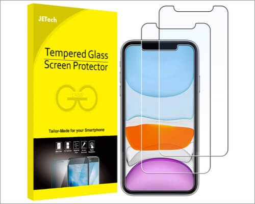 jetech screen protector for iphone 11