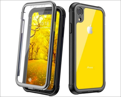 justcool iphone xr clear case