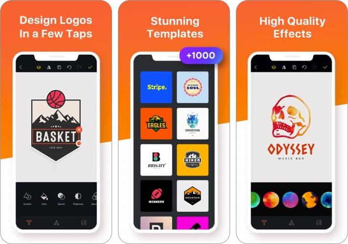 logo maker shop ios app screenshot