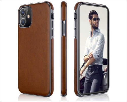 lohasic iphone 11 leather case