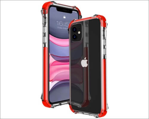mateprox shockproof bumper cover for iphone 11