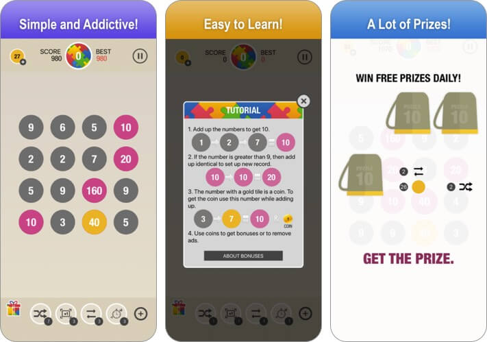 math games for kids iphone and ipad app screenshot
