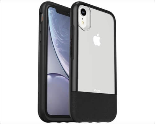 otterbox clear leather case for iphone xr