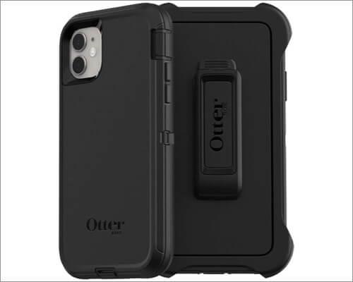 otterbox defender series belt clip case for iphone 11