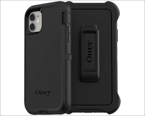 otterbox defender series heavy duty rugged case for iphone 11