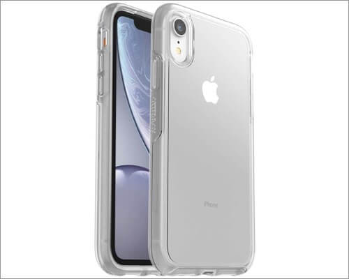 otterbox symmetry clear case for iphone xr