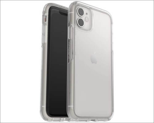 otterbox symmetry series clear case for iphone 11