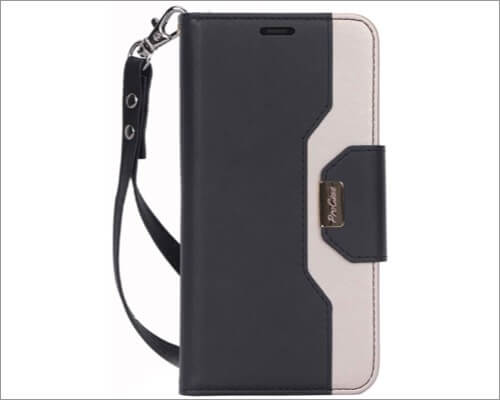 procase iphone 11 folio case