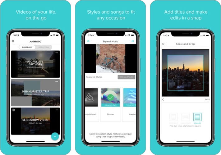 slideshow creator iphone and ipad presentation app screenshot