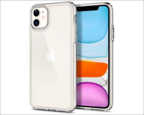 spigen clear case for apple iphone 11
