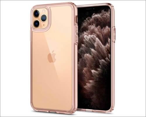 spigen slim fit clear case for iphone 11 pro