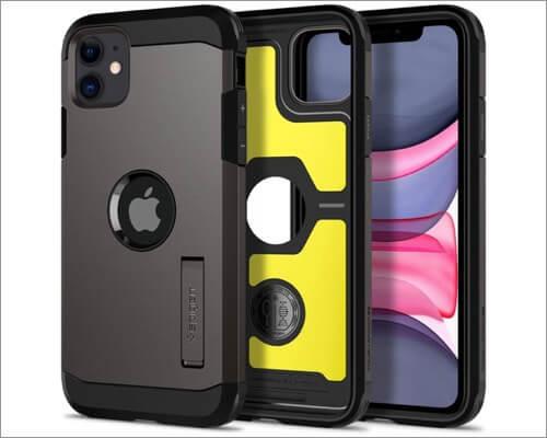 spigen tough armor kickstand case for iphone 11