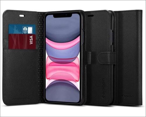 spigen wallet s designed case for iphone 11