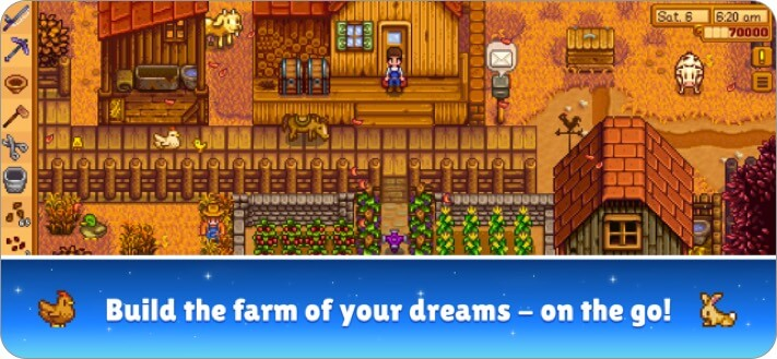 stardew valley iphone simulator game screenshot