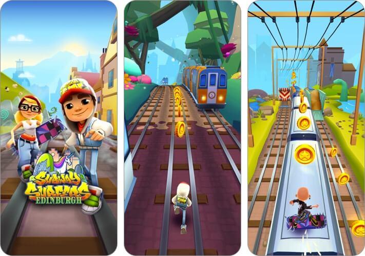subway surfers iphone and ipad offline game screenshot