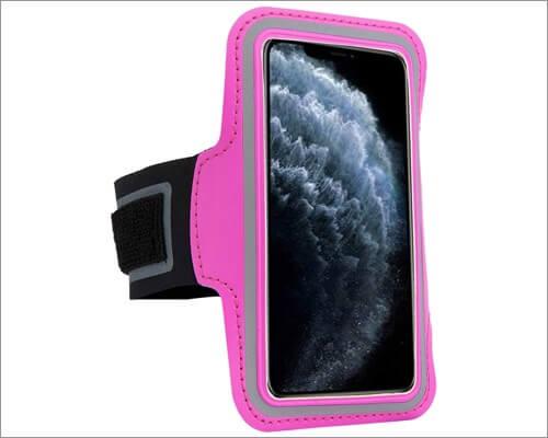 sumaclife jogging armband for iphone se 2020